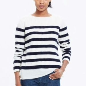 Madewell Striped Anchorlight Sweater